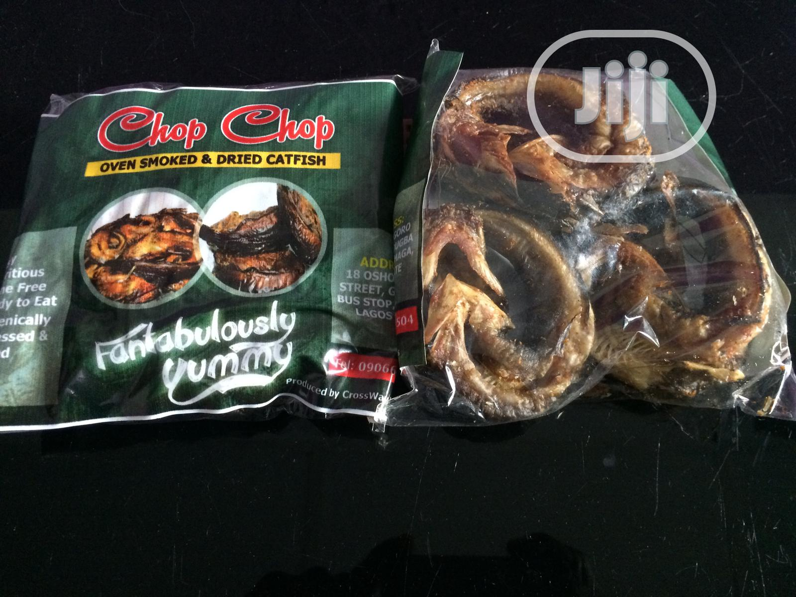 Archive: Chop Chop Oven Smoked And Dried Catfish