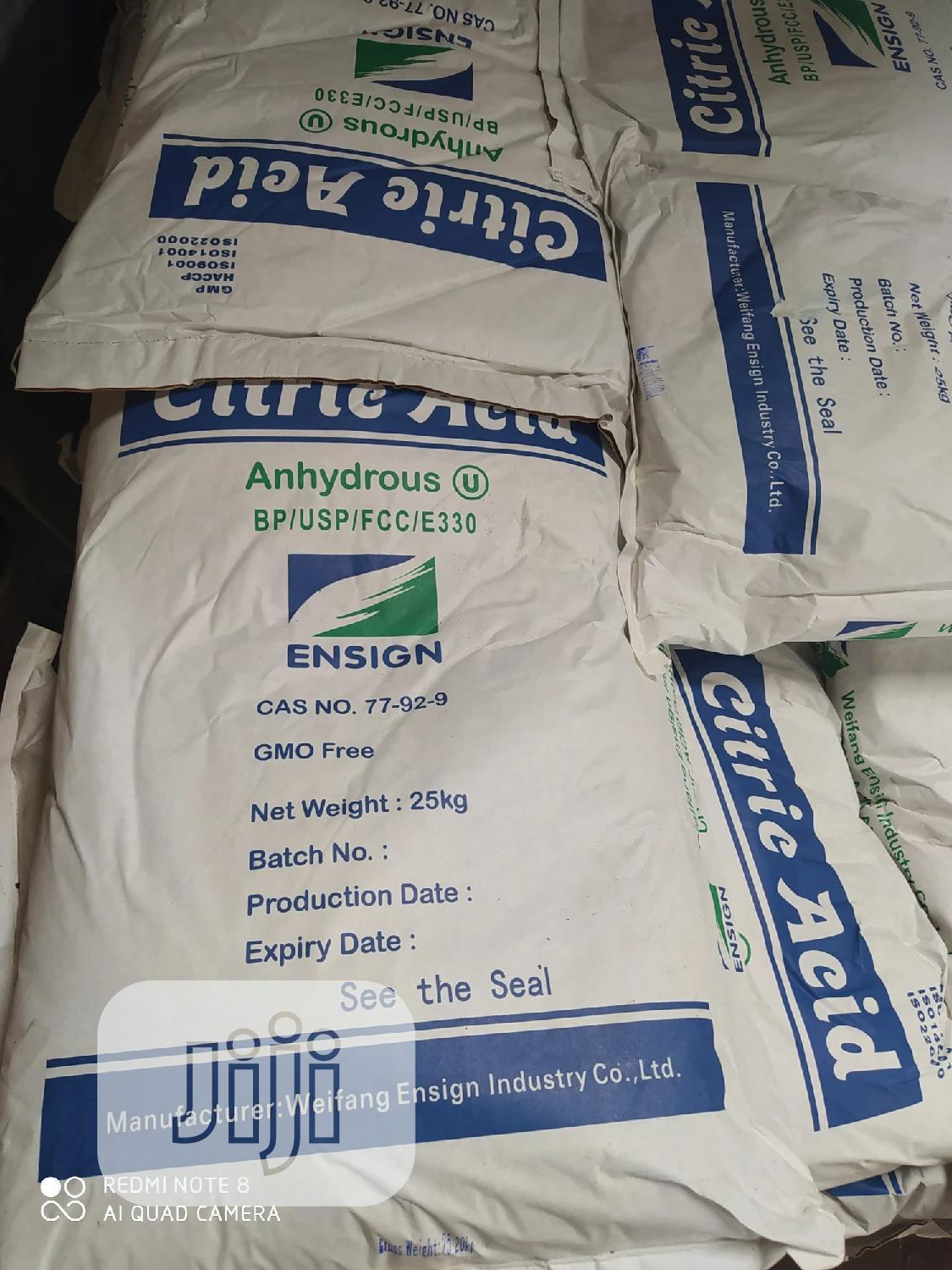 Citric ACID | Meals & Drinks for sale in Isolo, Lagos State, Nigeria