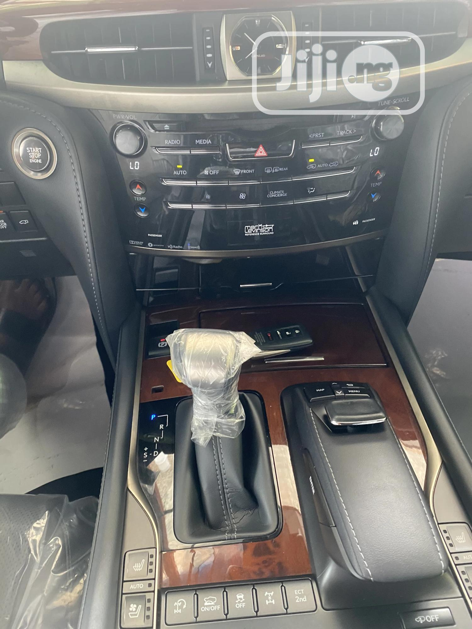 New Lexus LX 2019 570 Three-Row Black | Cars for sale in Central Business Dis, Abuja (FCT) State, Nigeria