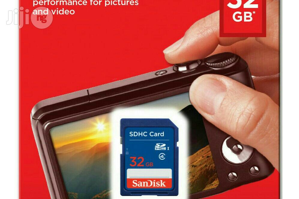 Sandisk Sdhc SD Class 4 32gb