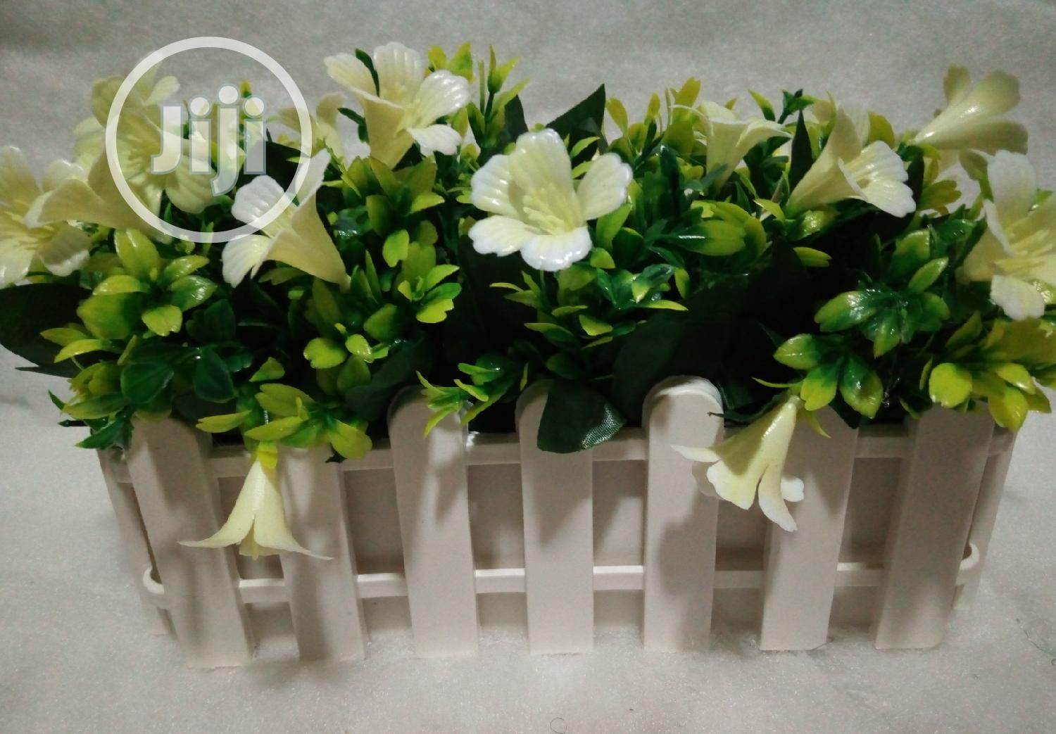 Flower Vase And Artificial Flower | Home Accessories for sale in Ajah, Lagos State, Nigeria