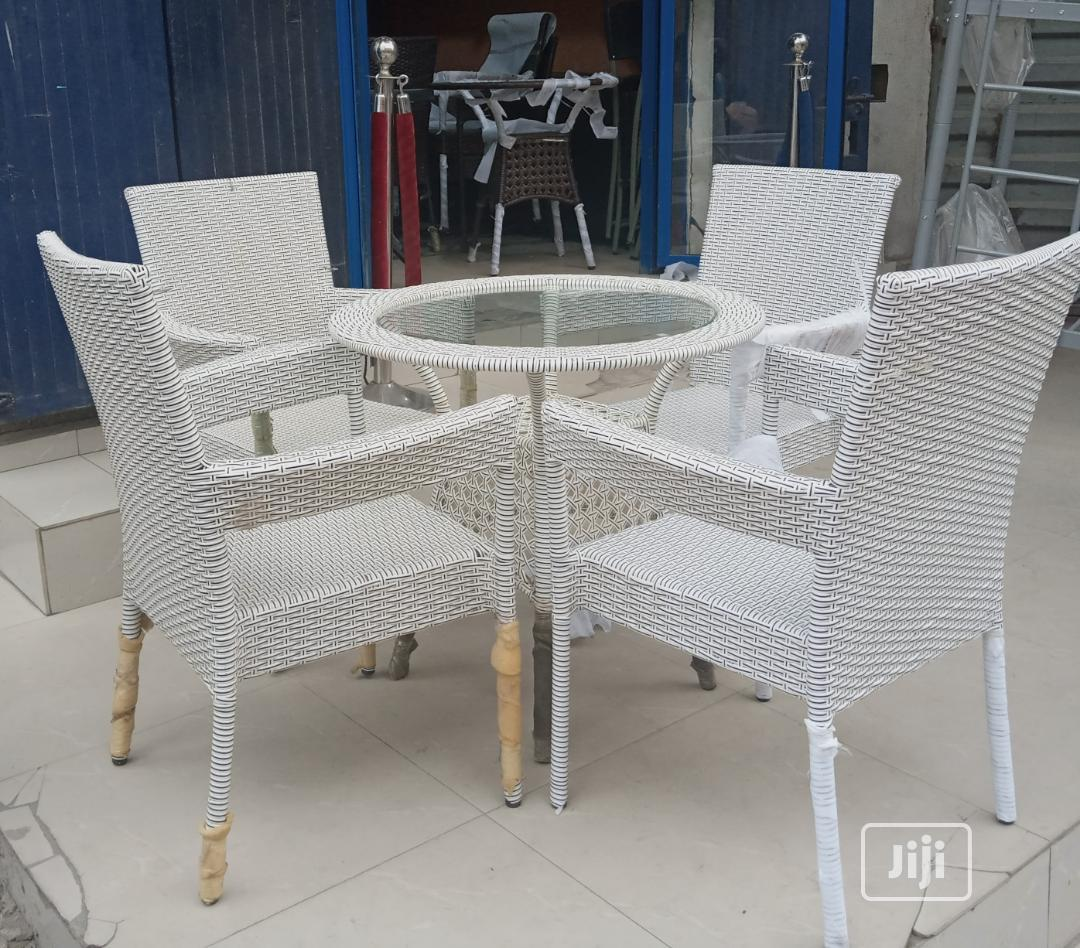 Original Outdoor Chairs And Table | Garden for sale in Ojo, Lagos State, Nigeria
