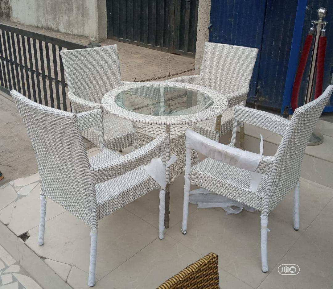 Original Outdoor Chairs And Table