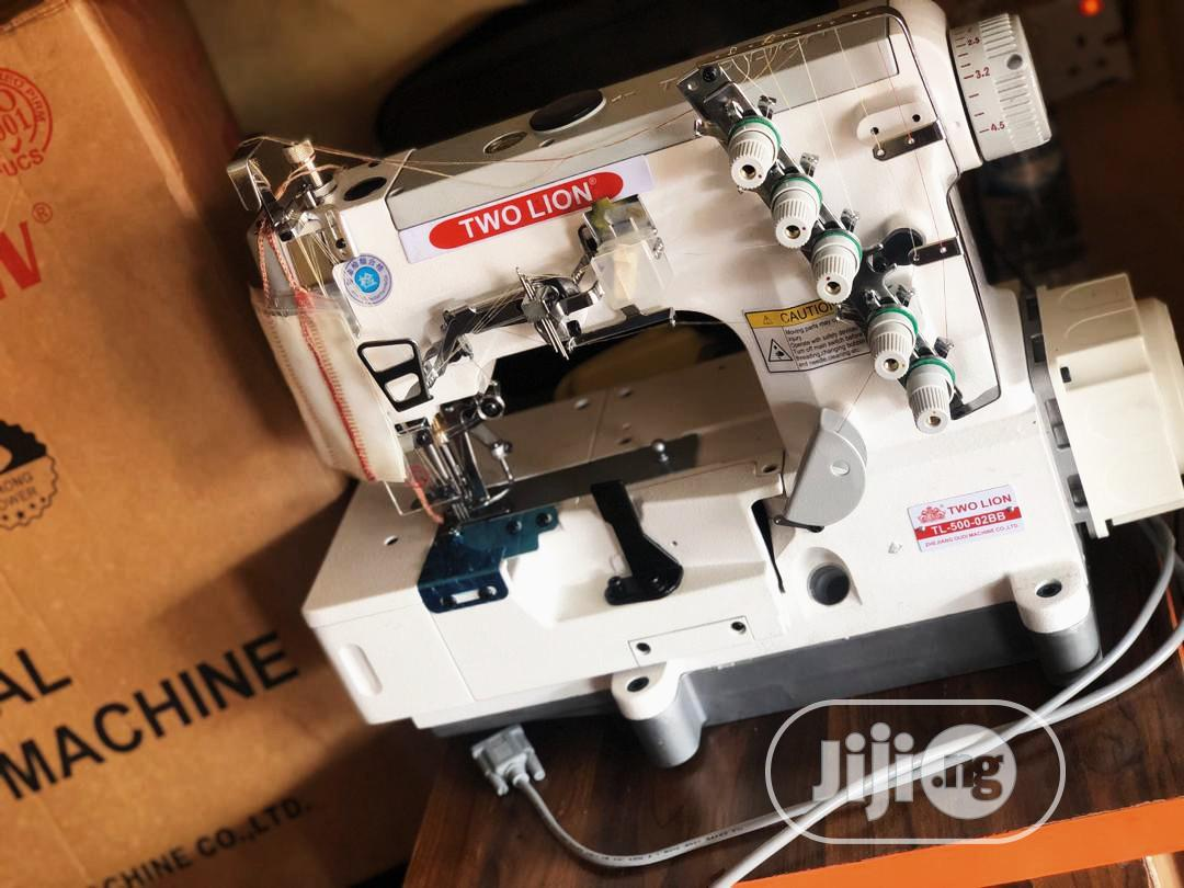 Archive: Two Lion Direct Drive Industrial Tapping Machine ( Complete)