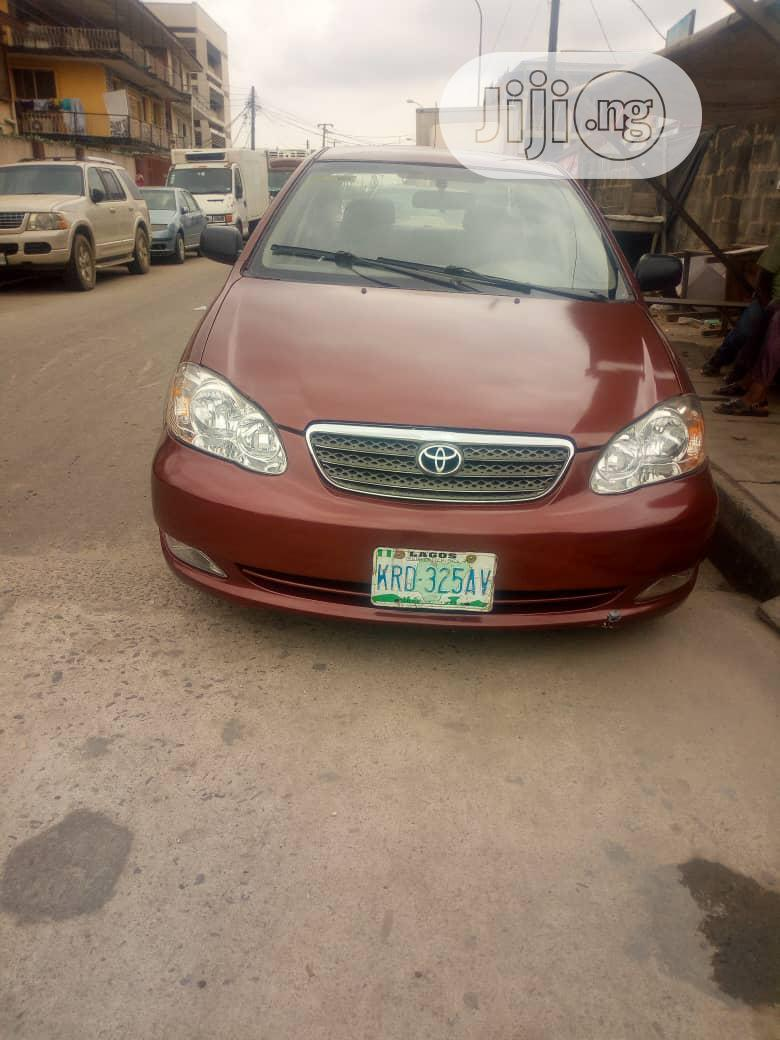 Toyota Corolla Le 2004 Red In Surulere Cars Auto Babs Jiji Ng For Sale In Surulere Buy Cars From Auto Babs On Jiji Ng