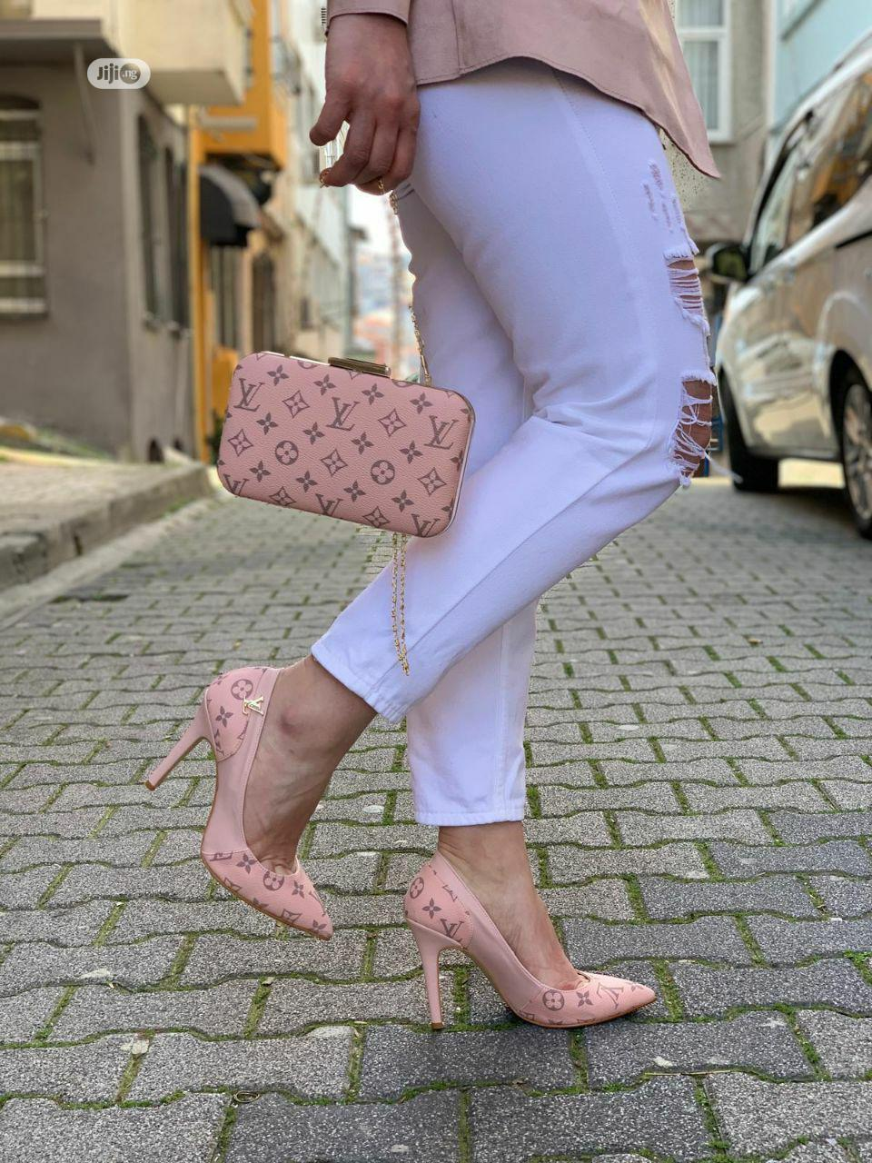 Louis Vuitton Designer's Set Of Shoe And Bag | Bags for sale in Ajah, Lagos State, Nigeria