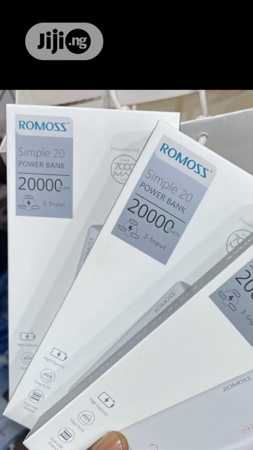 Romoss Power Bank 200000mah   Accessories for Mobile Phones & Tablets for sale in Ikeja, Lagos State, Nigeria