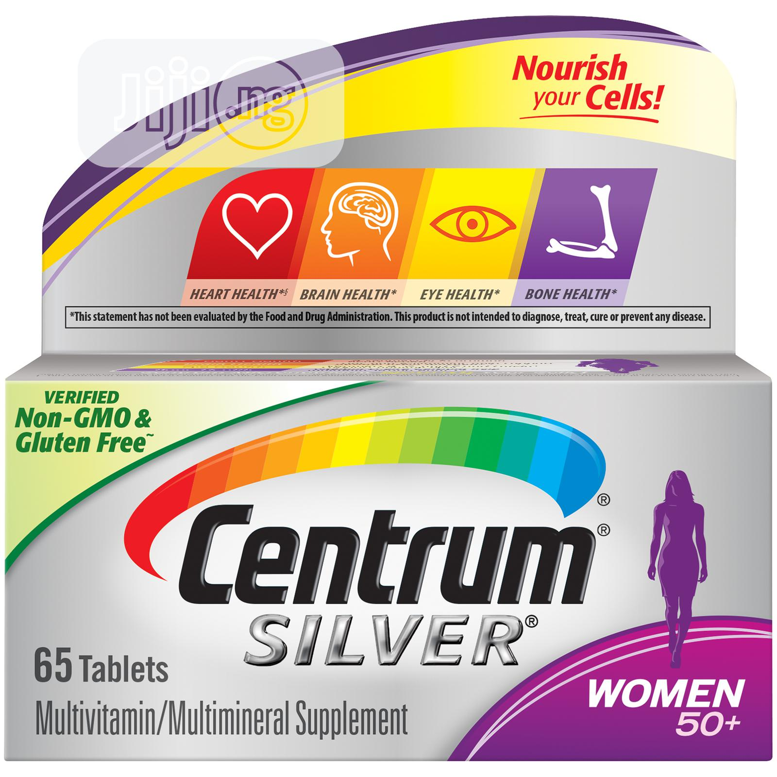 Centrum Silver Women's 50+ Multivitamin Tablets, 65 Count