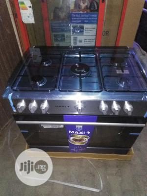Maxi 5 Burners Gas Cooker, Oven and Grill With 2yrs Wrnty. | Kitchen Appliances for sale in Lagos State, Ojo