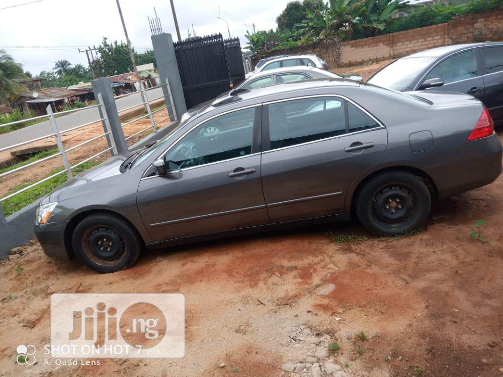 Honda Accord 2006 2.4 Executive Gray | Cars for sale in Nnewi, Anambra State, Nigeria