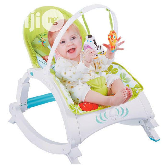 Deluxe 3 In 1 Infant To Toodler Baby Rocker With Detachable Tr | Children's Gear & Safety for sale in Yaba, Lagos State, Nigeria