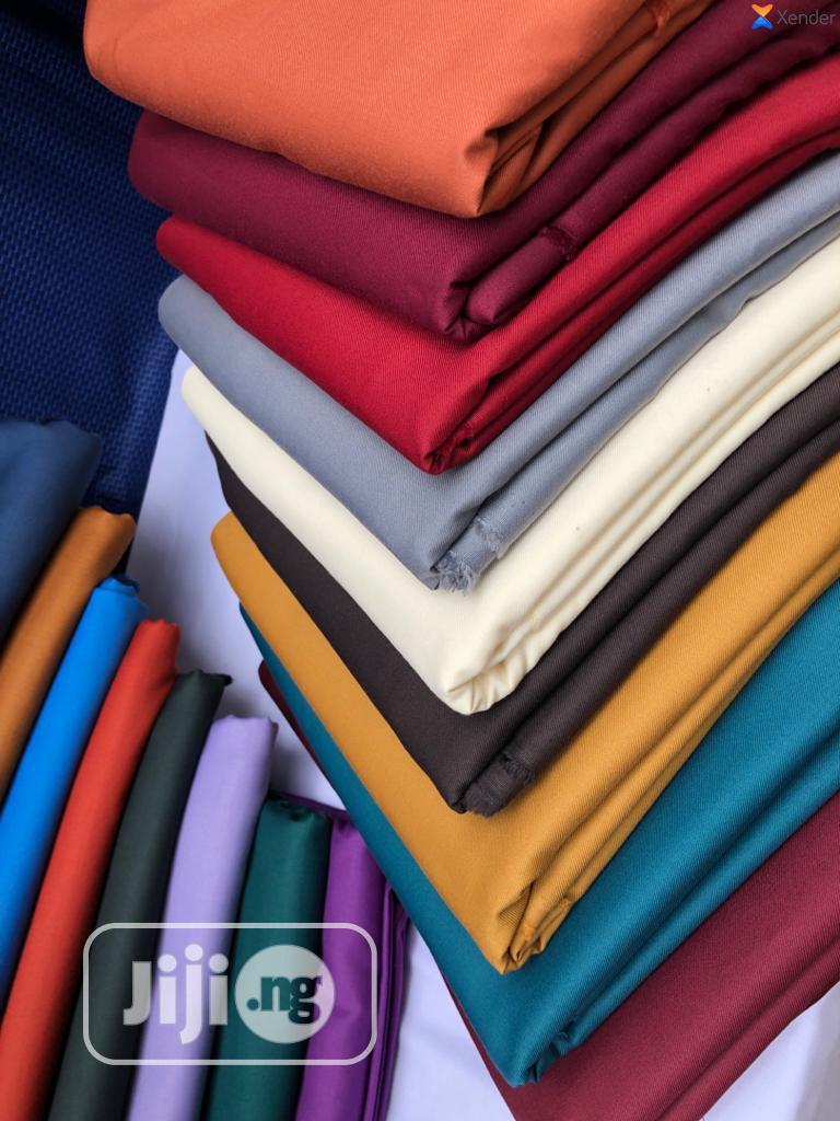 Plain Cashmere/Senator Materials