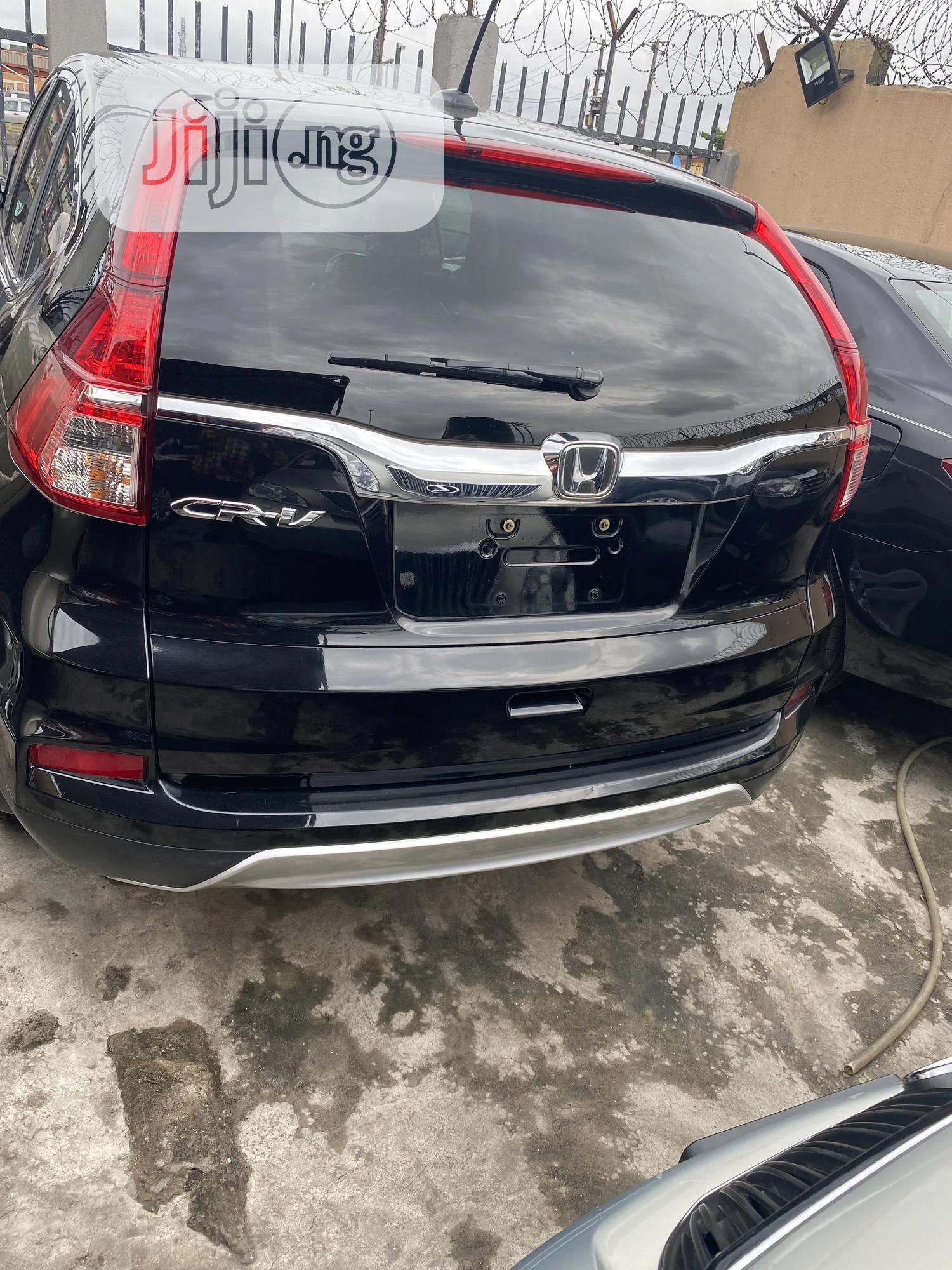 Honda CR-V 2017 Black