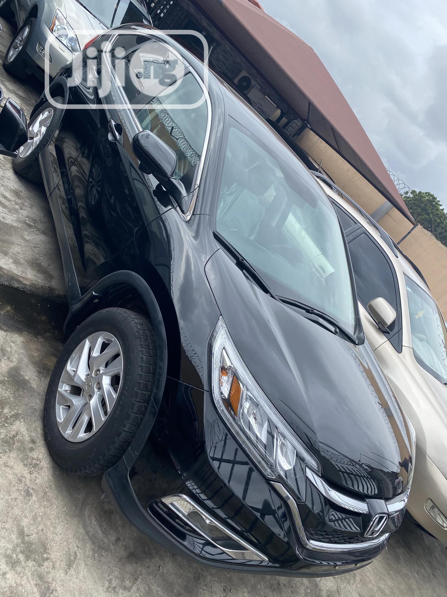Honda CR-V 2017 Black | Cars for sale in Surulere, Lagos State, Nigeria