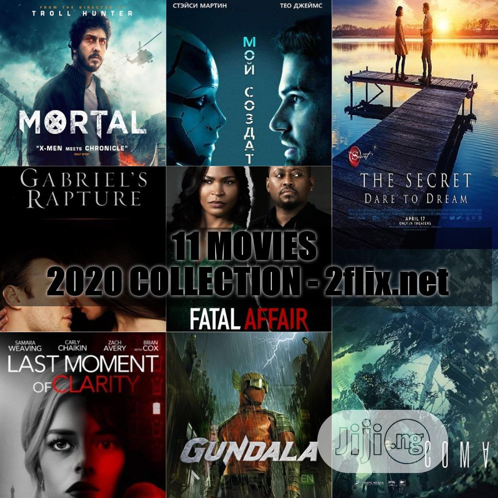 DVD 2020 Movies (August Collection)