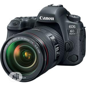 Canon EOS 6D Mark II DSLR Camera With 24-105mm F/3.5-5.6 Len | Photo & Video Cameras for sale in Lagos State, Ikeja