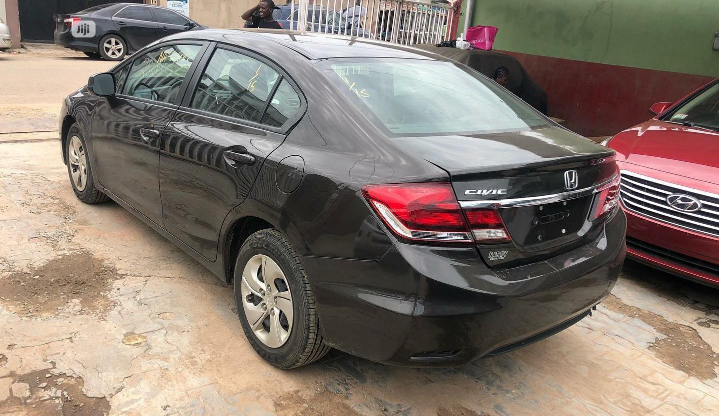 Honda Civic 2014 Black
