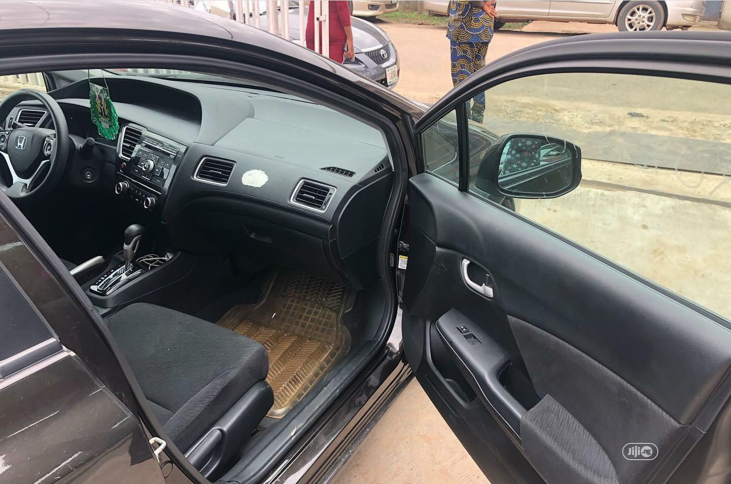 Honda Civic 2014 Black   Cars for sale in Ikeja, Lagos State, Nigeria
