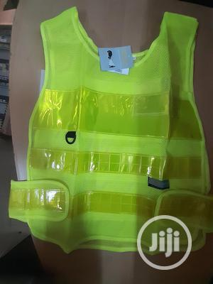 Lemon-mesh-executive-high-visibility-reflective-jacket.J   Safetywear & Equipment for sale in Lagos State, Amuwo-Odofin