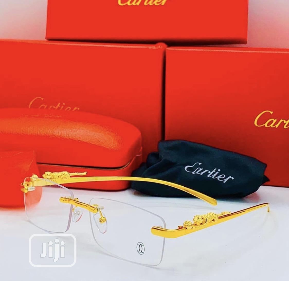 Rimless Cartier Glasses