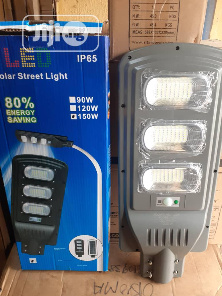150w All in One Solar Street Light With Remote Is Available