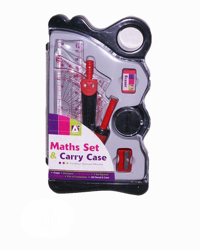 Maths Set & Carry Case