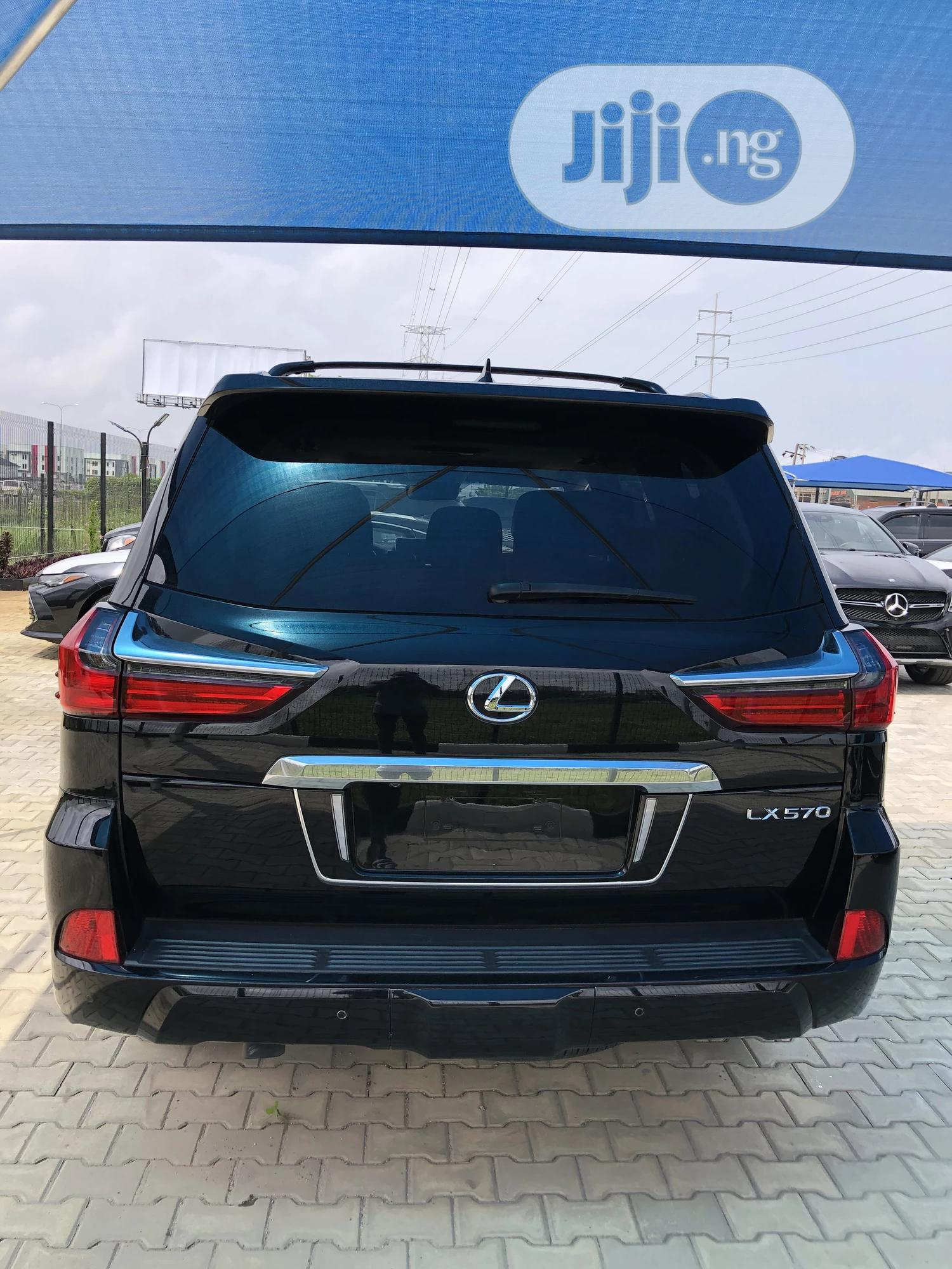 Lexus LX 2018 570 Three-Row Black   Cars for sale in Lekki, Lagos State, Nigeria