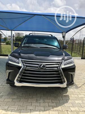Lexus LX 2018 570 Three-Row Black | Cars for sale in Lagos State, Lekki