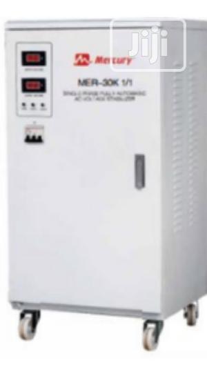 Mercury Stabilizer 30KVA Servo AVR Single Phase   Electrical Equipment for sale in Lagos State, Lekki