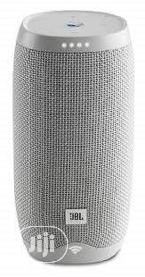 JBL Link 10 Voice-Activated Portable Speaker - White.   Audio & Music Equipment for sale in Lagos State, Ikeja