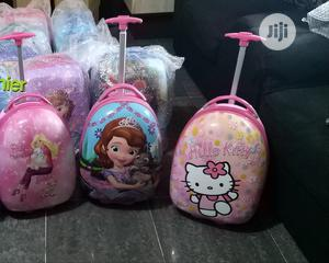 Barbie Hello Kitty Plastic Trolley Bag | Babies & Kids Accessories for sale in Lagos State, Ikeja