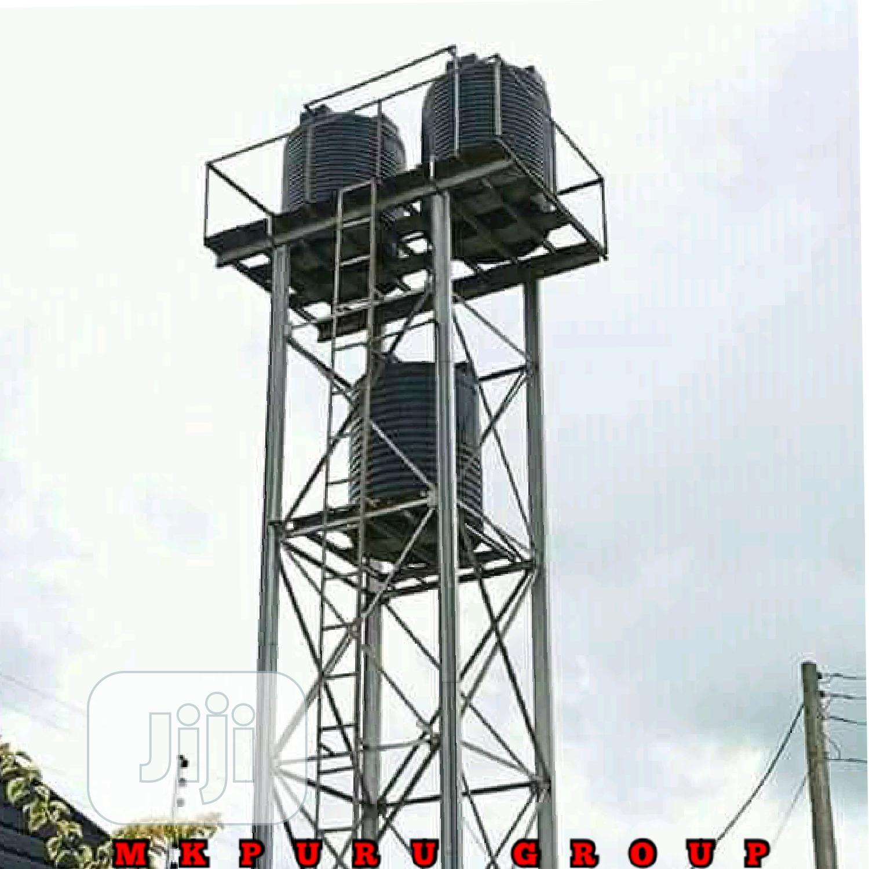 Overhead Tank & Stand