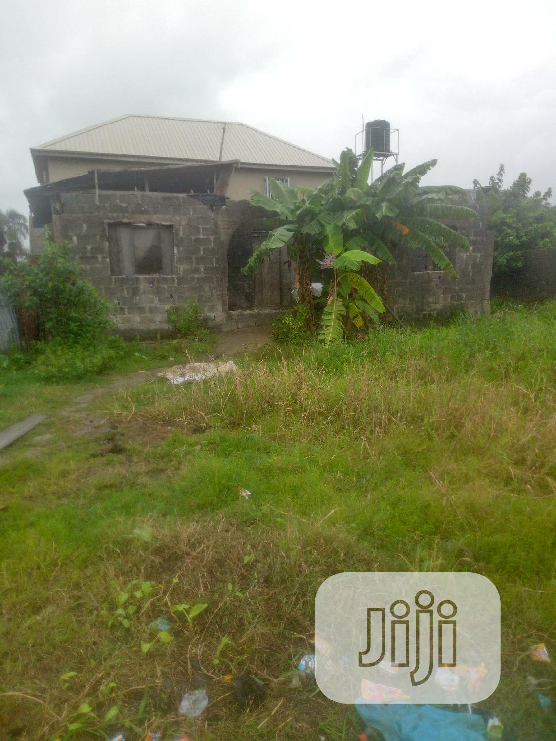 Uncompleted 3bedroom Bungalow   Houses & Apartments For Sale for sale in Ajah, Lagos State, Nigeria