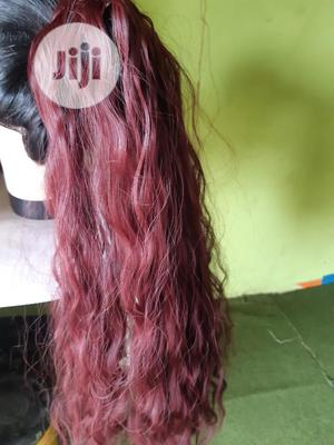 Curly And Straight Ponytail Wig | Hair Beauty for sale in Oyo State, Ibadan