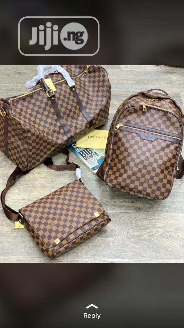 Louis Vuitton Travel Bag, Side Bag and Backpac