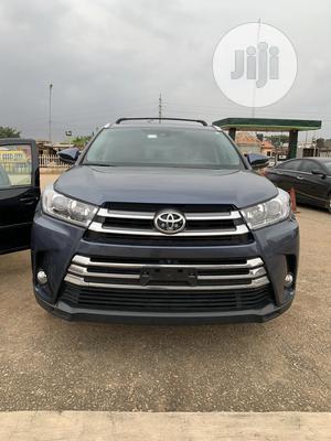 Toyota Highlander 2018 Blue | Cars for sale in Lagos State, Alimosho