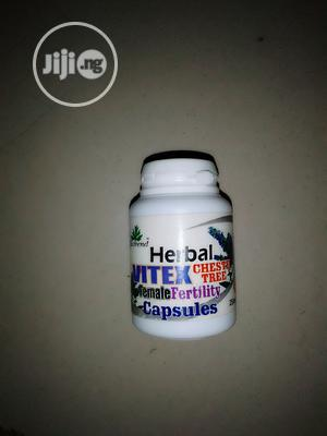 Herbal Vitex Cheste Tree Female Fertility Capsules   Vitamins & Supplements for sale in Abuja (FCT) State, Masaka