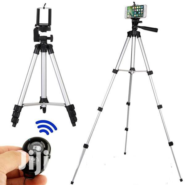 Tripod Stand Holder With Bluetooth Remote