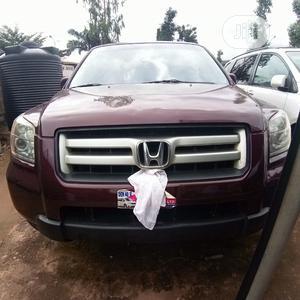 Honda Pilot 2007 EX 4x4 (3.5L 6cyl 5A) Red | Cars for sale in Enugu State, Enugu