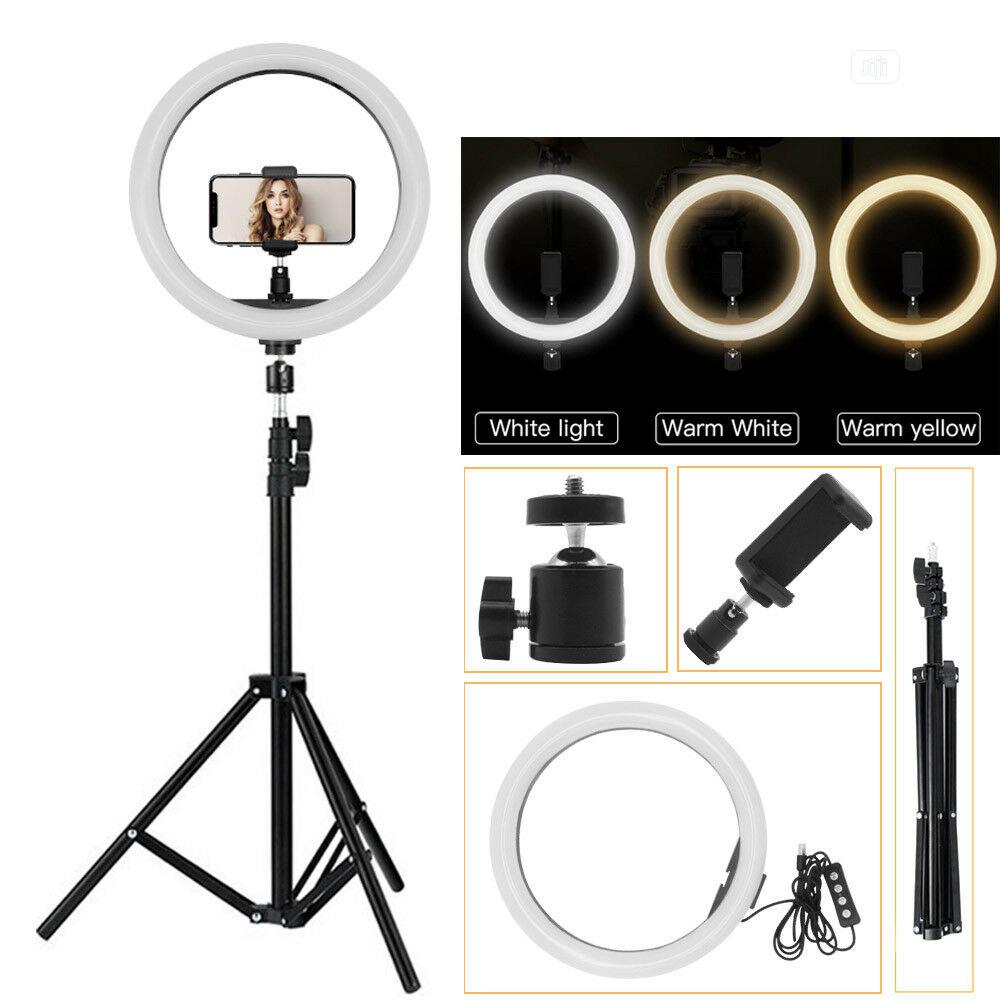 LED Selfie Studio Ring Light With Stand