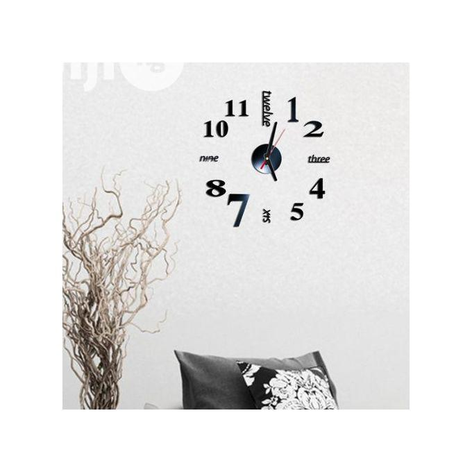 3D Mirror Wall Stickers Creative DIY Wall Clocks | Home Accessories for sale in Ikoyi, Lagos State, Nigeria