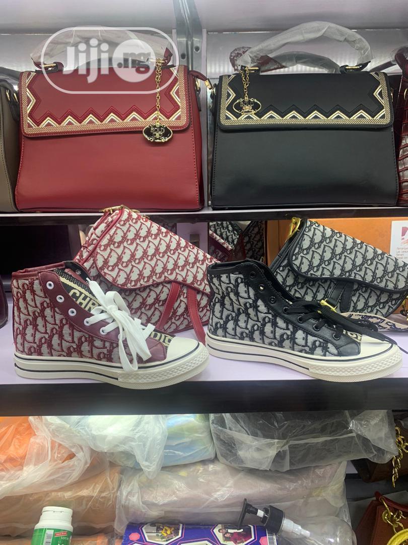 Louis Vuitton {Bag and Shoe}