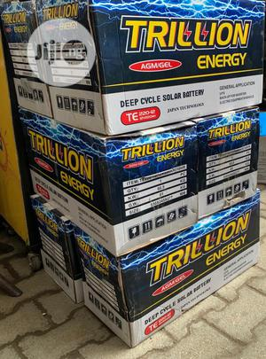 220A Trilion Deep Cycle Battery   Solar Energy for sale in Edo State, Benin City