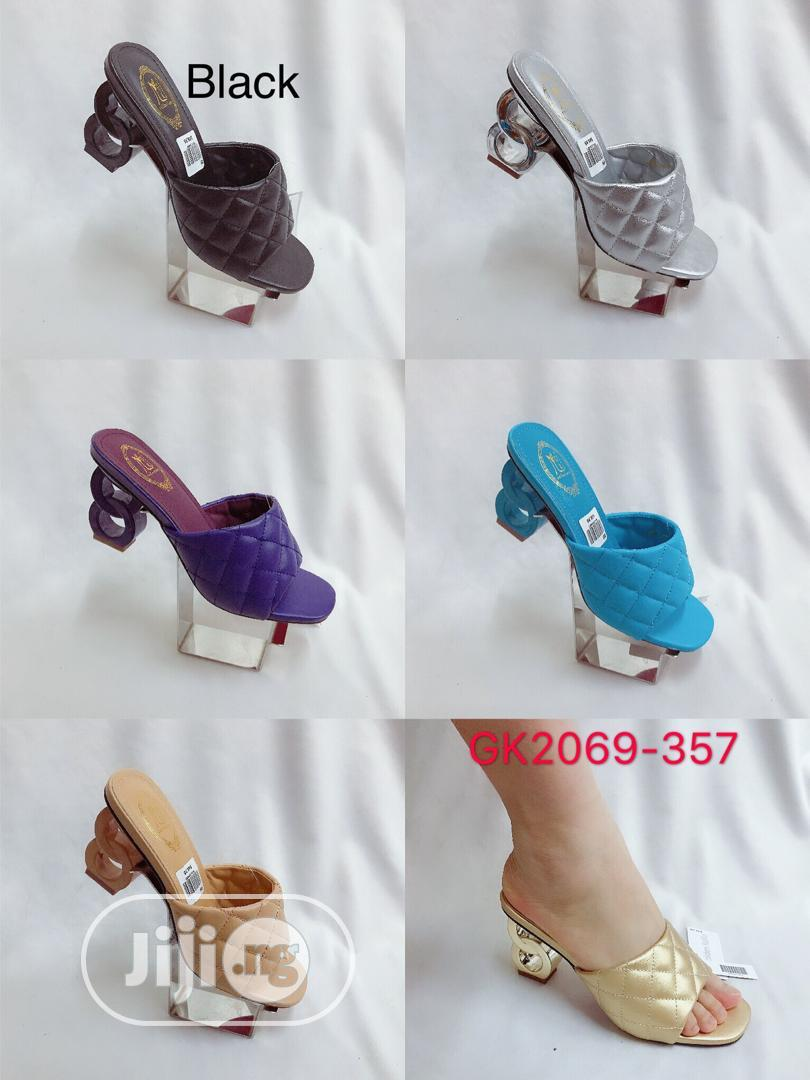 New Female Quality Block Heel Slippers   Shoes for sale in Lagos Island, Lagos State, Nigeria