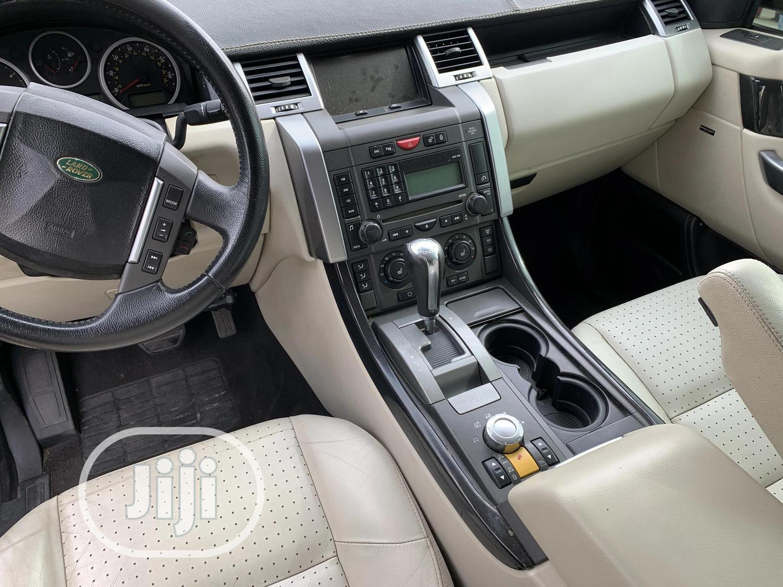 Land Rover Range Rover Sport 2007 Black | Cars for sale in Amuwo-Odofin, Lagos State, Nigeria