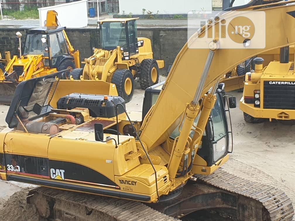 Tokunbo 330DL Caterpillar Excavator For Sale | Heavy Equipment for sale in Ikeja, Lagos State, Nigeria