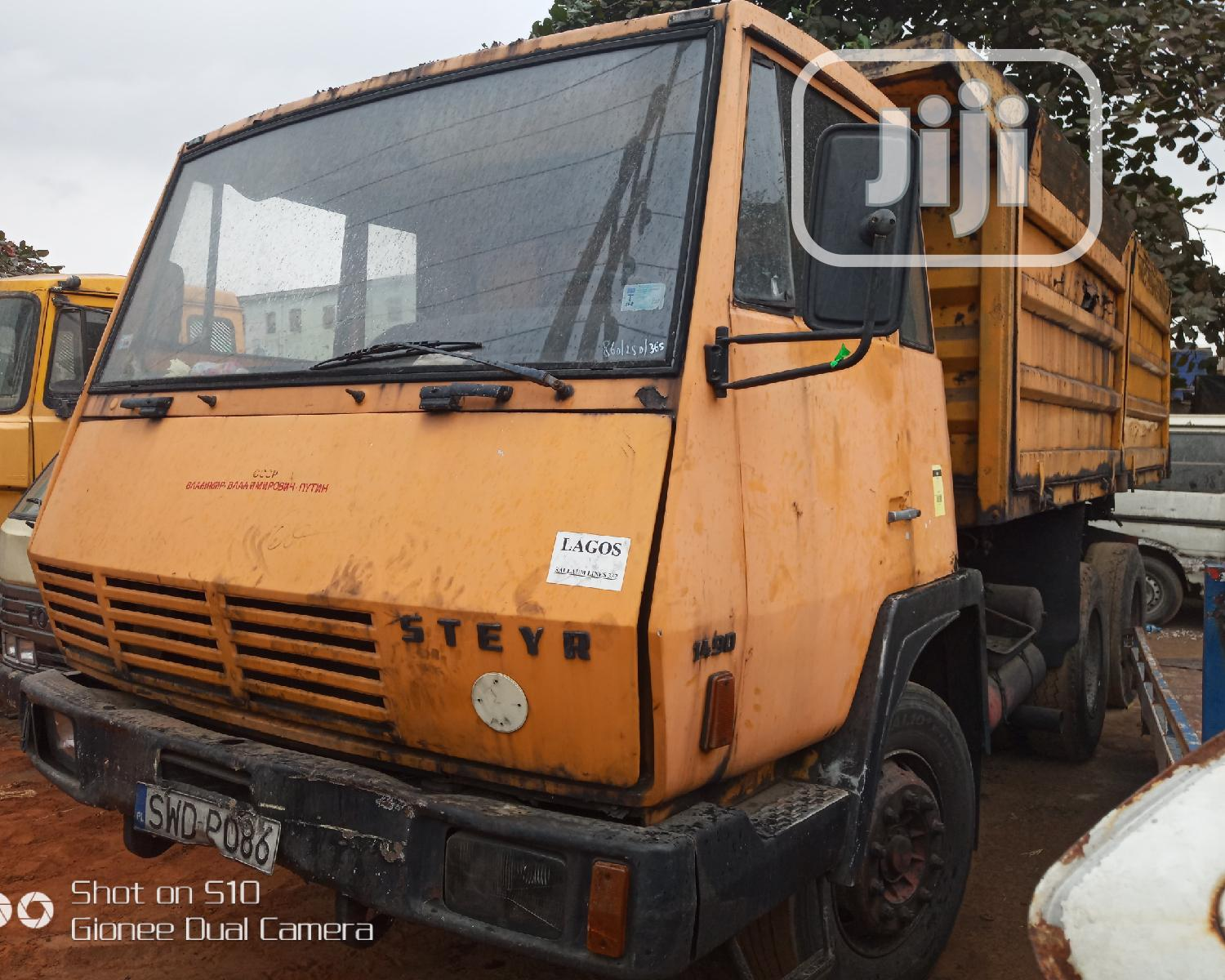Tokunbo STEYR Tipper For Sale