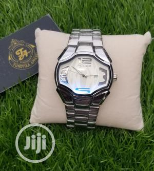 Silver Male Police Wristwatch | Watches for sale in Lagos State, Ajah