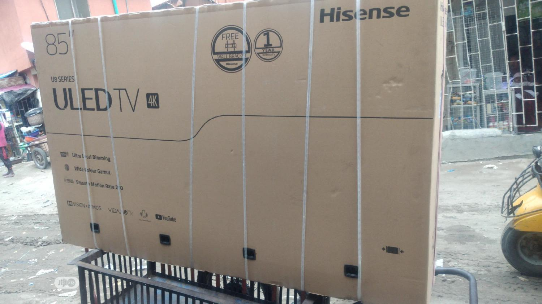 Hisense 85 Inches Uled TV 4K