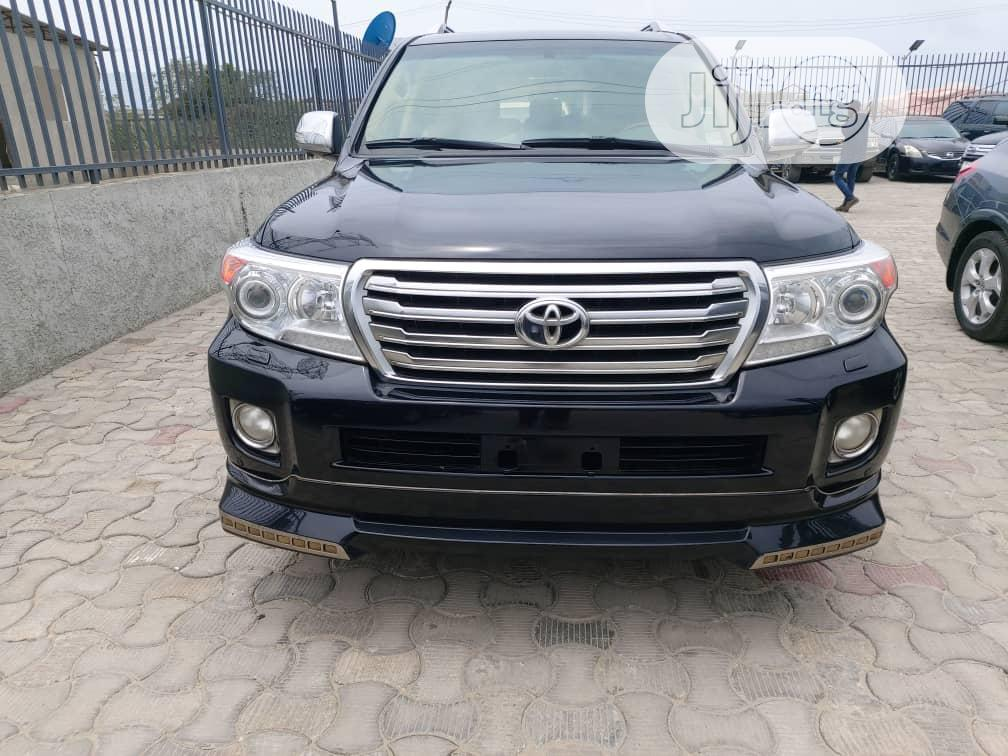 Toyota Land Cruiser 2015 Black